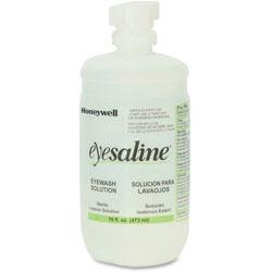 Fendall Company Eyewash Bottle, Saline, Extended Flow Nozzle, 16 oz.