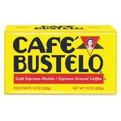 Cafe Bustelo Coffee, Espresso, 10 oz Brick Pack, 24/Carton