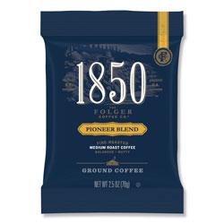 1850 Coffee Fraction Packs, Pioneer Blend, Medium Roast, 2.5 oz Pack, 24 Packs/Carton