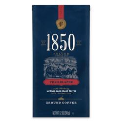 1850 Coffee, Trailblazer, Dark Roast, Ground, 12 oz Bag