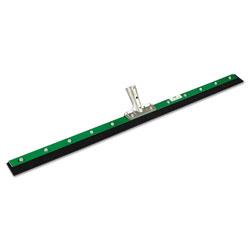Unger Aquadozer Heavy Duty Floor Squeegee, 36 Inch Blade, Green/Black Rubber, Straight