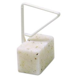 Fresh Products ParaZyme Toilet Bowl Block, 3.5-Oz, White, Springtime Fragrance, Dozen