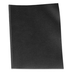 GBC® VeloBind Presentation Covers, 11 x 8 1/2, Black, 50/Pack