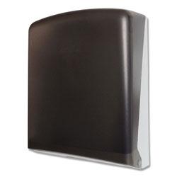 GEN Folded Towel Dispenser, 11 in x 4 1/2 in x 14 in, Smoke