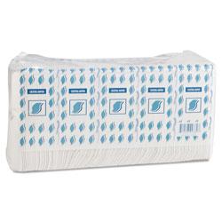 GEN Cocktail Napkins, 1-Ply, 9w x 9d, White, 500/Pack, 8 Packs/Carton