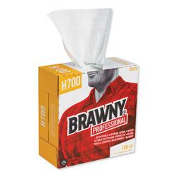 Brawny Professional® Medium Weight HEF Shop Towels, 9 1/8 x 16 1/2, 100/Box, 5 Boxes/Carton