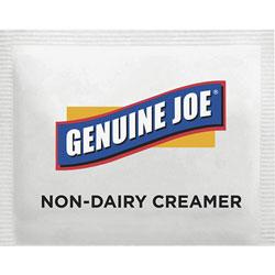 Genuine Joe Non-Dairy Creamer Packets, 800/PK, White