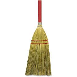 Genuine Joe Toy Corn Fiber Broom, 12EA/CT, Natural