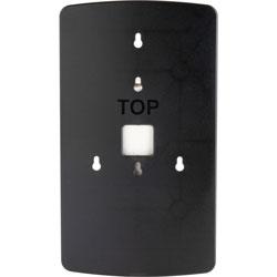 Genuine Joe Wallplate, OmniPod, 1/10 in W x 6-4/5 in L x 11-1/2 in H, Black