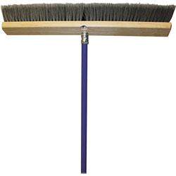 Genuine Joe All-Purpose Sweeper, 24 in, Gray