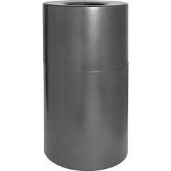 Genuine Joe Waste Receptacle, Fire/Leak Prook, 35 Gal., Aluminum