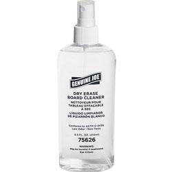 Genuine Joe Board Cleaner, Dry-Erase, Low Odor, 8Ounce, Pump Spray