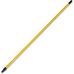 Genuine Joe Fiberglass Extension Handle, 60 in, Yellow