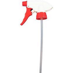 Genuine Joe Trigger Sprayer, Standard, 12.25 inx9 inx5.5 in, Red/White