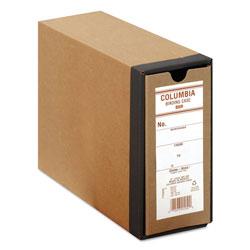Globe Weis COLUMBIA Recycled Binding Cases, 2 Rings, 3.13 in Capacity, 11 x 8.5, Kraft