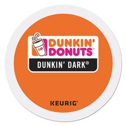 Dunkin' Donuts K-Cup Pods, Dunkin' Dark Roast, 24/Box