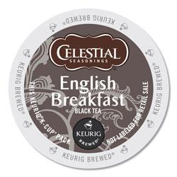 Celestial Seasonings® English Breakfast Black Tea K-Cups, 24/Box