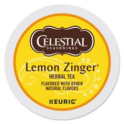 Celestial Seasonings® Lemon Zinger Herbal Tea K-Cups, 24/Box