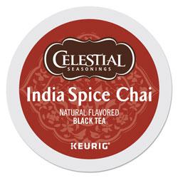 Celestial Seasonings® India Spice Chai Tea K-Cups, 24/Box
