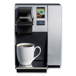 Keurig® K150P Plumbed Brewing System, Silver/Black, 10.4W x 14D x 13.9H
