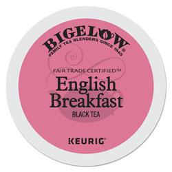 Bigelow Tea Company English Breakfast Tea K-Cups, 24/Box, 4 Box/Carton