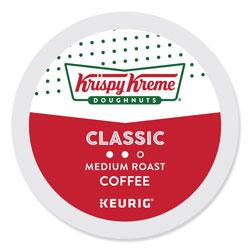 Krispy Kreme Classic Coffee K-Cups, Medium Roast, 24/Box