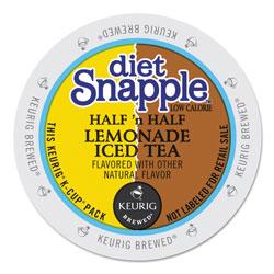 Snapple Diet Half 'n Half K-Cups, 22/Box