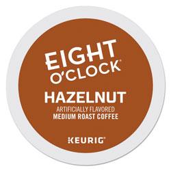 Eight O'Clock Hazelnut Coffee K-Cups, 24/Box