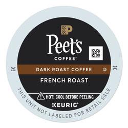 Peet's French Roast Coffee K-Cups, 22/Box