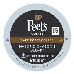 Peet's Major Dickason's Blend K-Cups, 22/Box