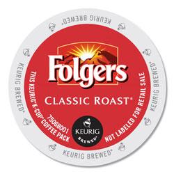 Folgers Gourmet Selections Classic Roast Coffee K-Cups, 96/Carton