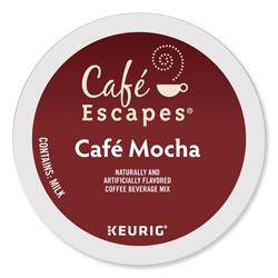Cafe Escapes® Mocha K-Cups, 24/Box, 96/Carton