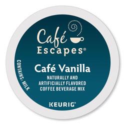 Cafe Escapes® Cafe Vanilla K-Cups, 24/Box