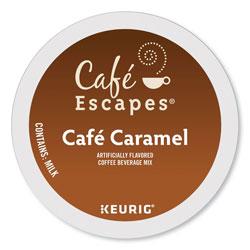 Cafe Escapes® Caf� Caramel K-Cups, 24/Box