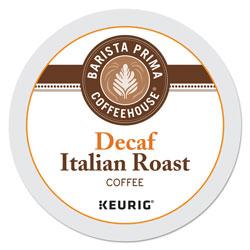 Barista Prima Coffee House® Decaf Italian Roast Coffee K-Cups, 24/Box