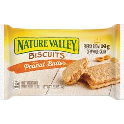 General Mills Honey Biscuits, w/ Peanut Butter, 1.35 oz., 16/BX