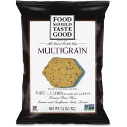 General Mills Multigrain Tortilla Chips, 1.5oz., 24/CT