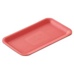 Genpak Supermarket Trays, Foam, White, 12 1/4 in x 7 1/4 in x 1/2 in