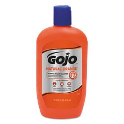 Gojo NATURAL ORANGE Pumice Hand Cleaner, Citrus, 14 oz Bottle, 12/Carton