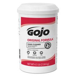 Gojo ORIGINAL FORMULA Hand Cleaner, 4.5 lb, White, 6/Carton