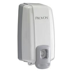 Provon NXT SPACE SAVER Dispenser, 1 L Refill, 5.13 x 4 in x 10.13 in, Dove Gray