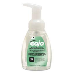Gojo Green Certified Foam Soap, Fragrance-Free, Clear, 7.5 oz Pump Bottle
