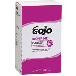 Gojo Lotion Soap, Antibacterial, 2000mL, Citrus Scent, Pink