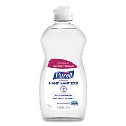 Purell Advanced Gel Hand Sanitizer, Clean Scent, 12.6 oz Squeeze Bottle, 12/Carton