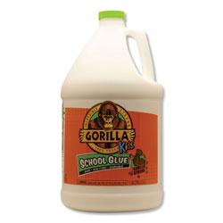 Gorilla Glue School Glue Liquid, 1 gal, Dries Clear