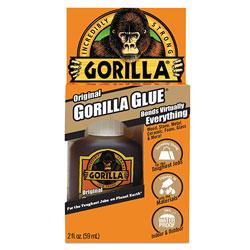 Gorilla Glue Original Formula Glue, 2 oz, Dries Light Brown