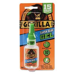 Gorilla Glue Super Glue Gel, 0.53 oz, Dries Clear