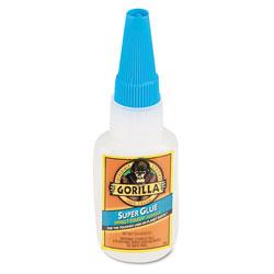Gorilla Glue Super Glue, 0.53 oz, Dries Clear