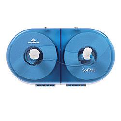 Sofpull Twin High-Capacity Centerpull Bathroom Tissue Dispenser