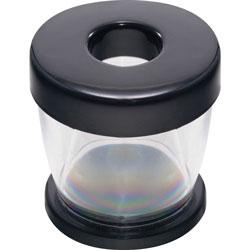 Gem Clip Dispenser, Clear/Black